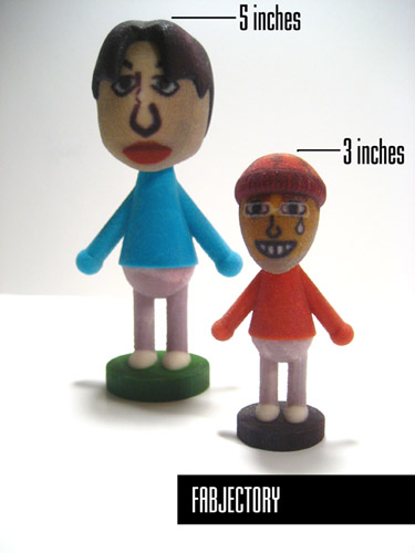 Now You Can Get A Statuette Of Your Mii In 3D
