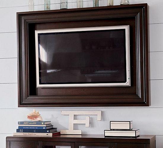 Love It or Leave It? Hardwood Flat-Panel TV Frame