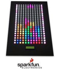 Maker Faire: Playing Wall Tetris