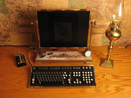 Vintage Keyboard Gets Matching Monitor