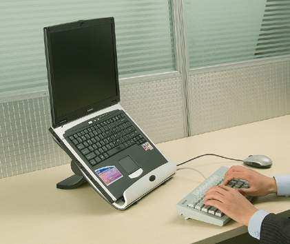 The IDesk Laptop Desktop Stand