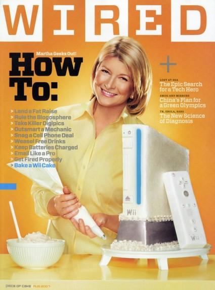 Martha Stewart Does Edible Geek On Wired