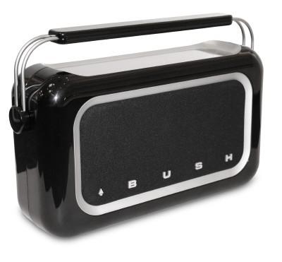 Retro Radio With Touchscreen Controls
