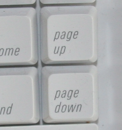 Geek Tip: Page Up Page Down Faster