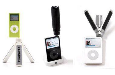 Boomtune Tripod iPod Speakers