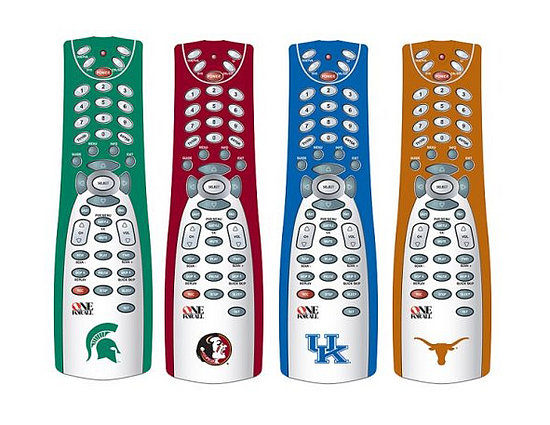 One-for-All's University Branded Remotes