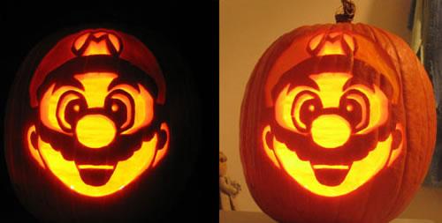 Geeky Carved Pumpkins