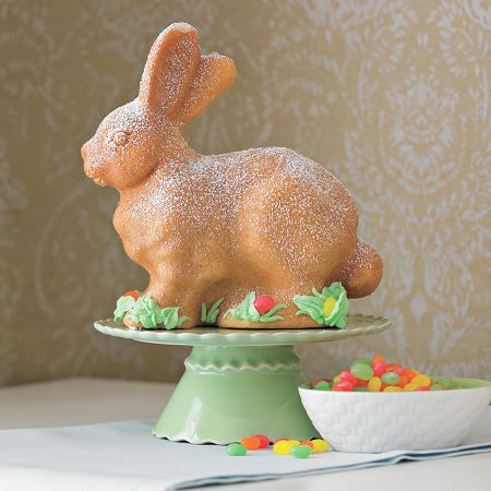 Three Dimensional Bunny Cake Popsugar Food