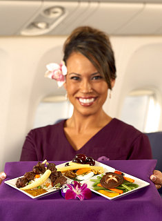 """Hawaiian Airlines to Offer a """"Tasting Menu"""""""