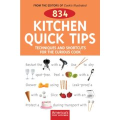 How Many Kitchen Tips? Try 834!