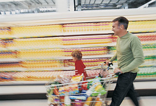 Are Men Overwhelmed By The Grocery Store?