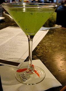 Happy Hour: Cilantro Martini