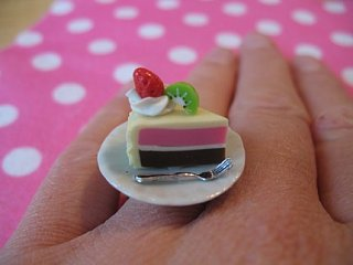 Yummy Link: Cute Dessert Rings