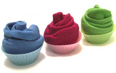 Yummy Link: Baby Sock Cupcakes