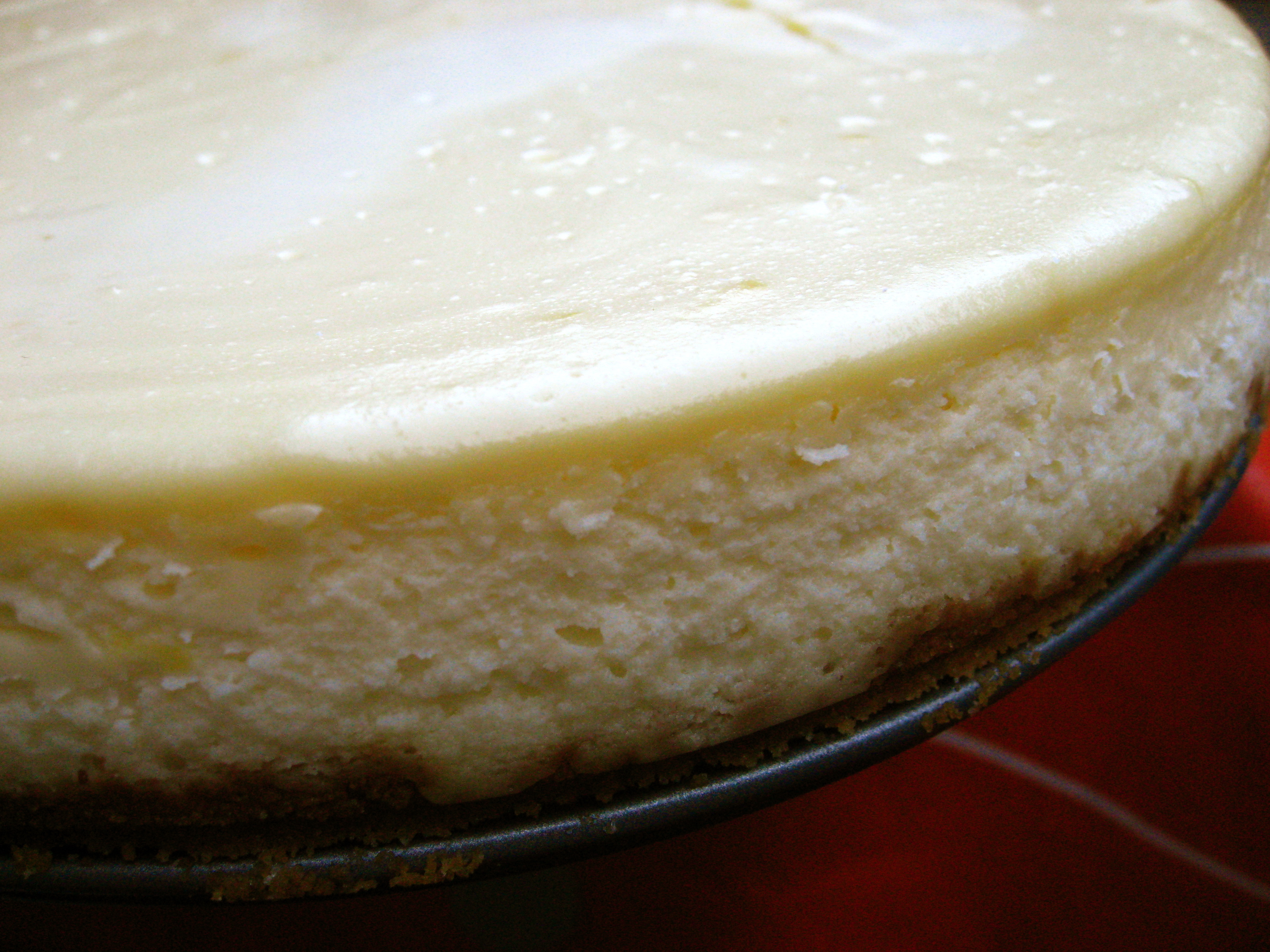 52 Weeks of Baking: Lemon Goat Cheese Cheesecake ...