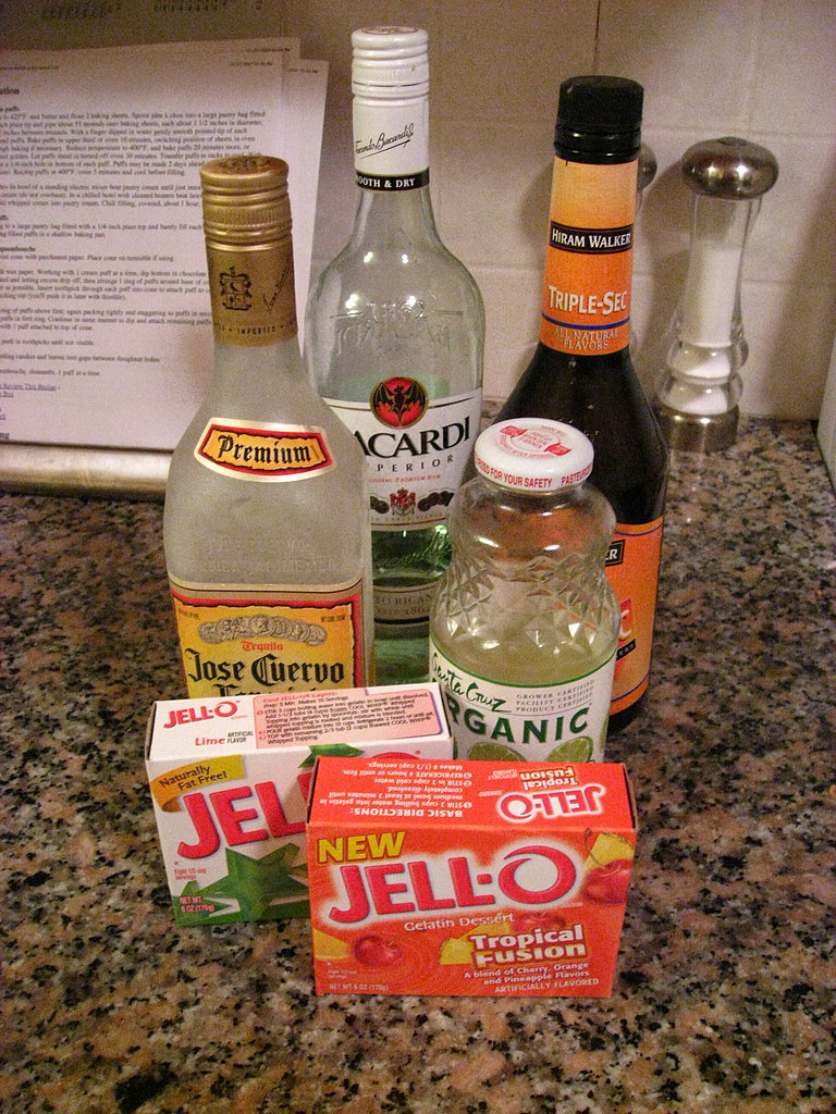 Happy Hour: Jell-O Shots Three Ways