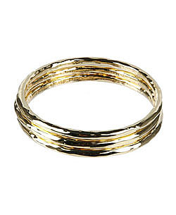 Gold bangle set