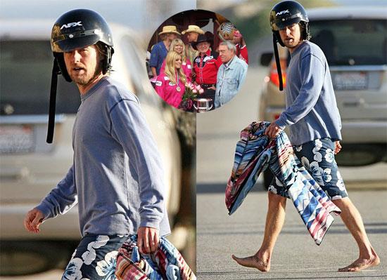 Owen Mower Races With Jessica, Hits Malibu Beach