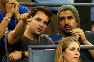 Colin Farrell Hits the U.S Open