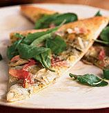 Today's Special: Artichoke and Arugula Pizza with Prosciutto