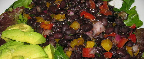 Fast & Easy Dinner: Black Bean Cobb Salad