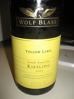 Happy Hour: Wolf Blass Riesling