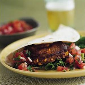 Fast & Easy Dinner: Southwestern Pumpkin Burgers