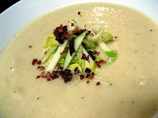 Soup's On: Celery Root Soup With Bacon and Apple
