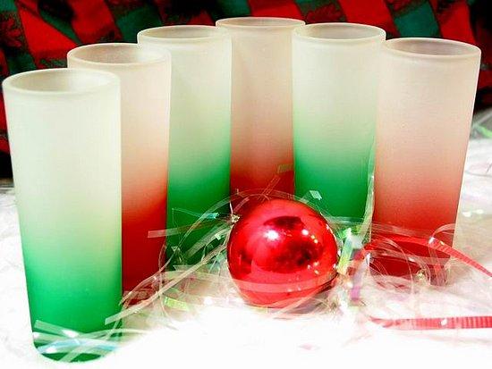 Off to Market Recap: Holiday Shot Glasses