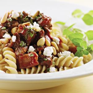 Fast & Easy Dinner: Lamb and Eggplant Ragu