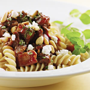 Fast & Easy Dinner: Lamb and Eggplant Ragu