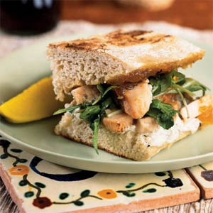 Fast & Easy Dinner: Chicken Panini with Fig Jam