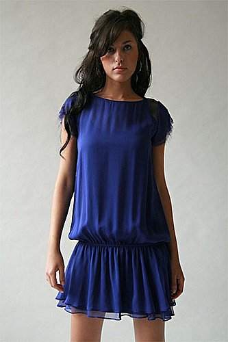 Pencey | New York City | pencey.com - Holiday 2007 Collection: Blue Dress