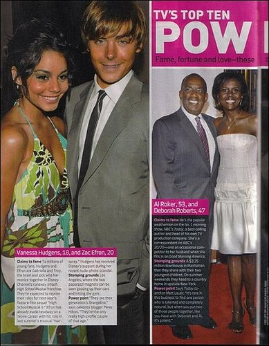 "Zac and Vanessa a ""Power Couple"""