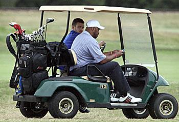 JT Goes Golfing