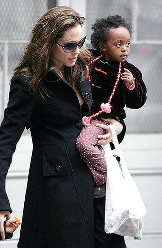 Angelina Jolie & Zahara