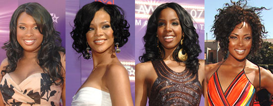 Whose Curly Hair Did You Like Best at BET?