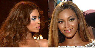 Which Bright Eye Color Looks Better on Beyonce?