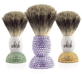Love It or Hate It? Whish Crystal-Studded Shave Brush