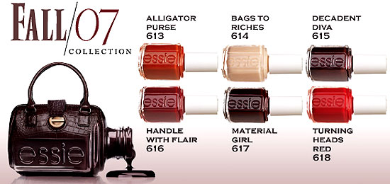 New Product Alert:  Essie Glamour Girl Collection