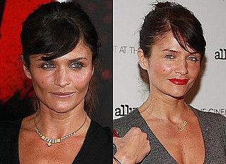 Which Lipstick Do You Like Better on Helena Christensen?
