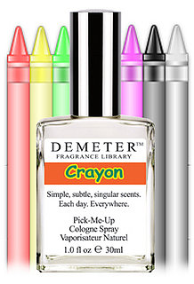 Fragrance Review: Demeter Crayon