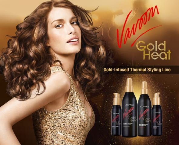 Vavoom Gold Heat Protects, Perfects