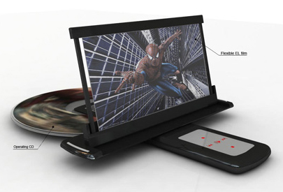 Portable DVD Player Takes Old Concept For A Spin