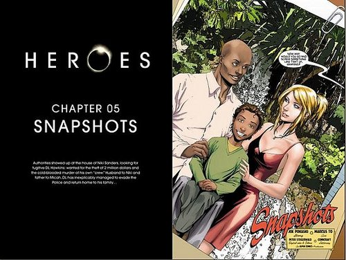 HEROES Graphic novel Chapter five: Snapshot.