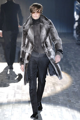 Do you think men should wear fur?