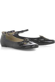 Chloe Patent Flat Shoes