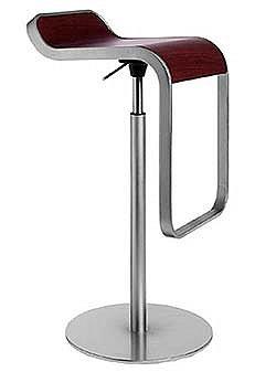 Design Within Reach - LEM Piston Stool - Wood Seat