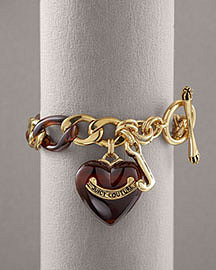 Juicy Couture Gold & Tortoise shell Bracelet