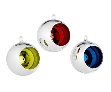 Deck the Haus:  Vortex Ornaments From CB2